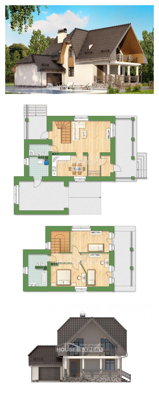 Проект дома 150-001-Л   House Expert