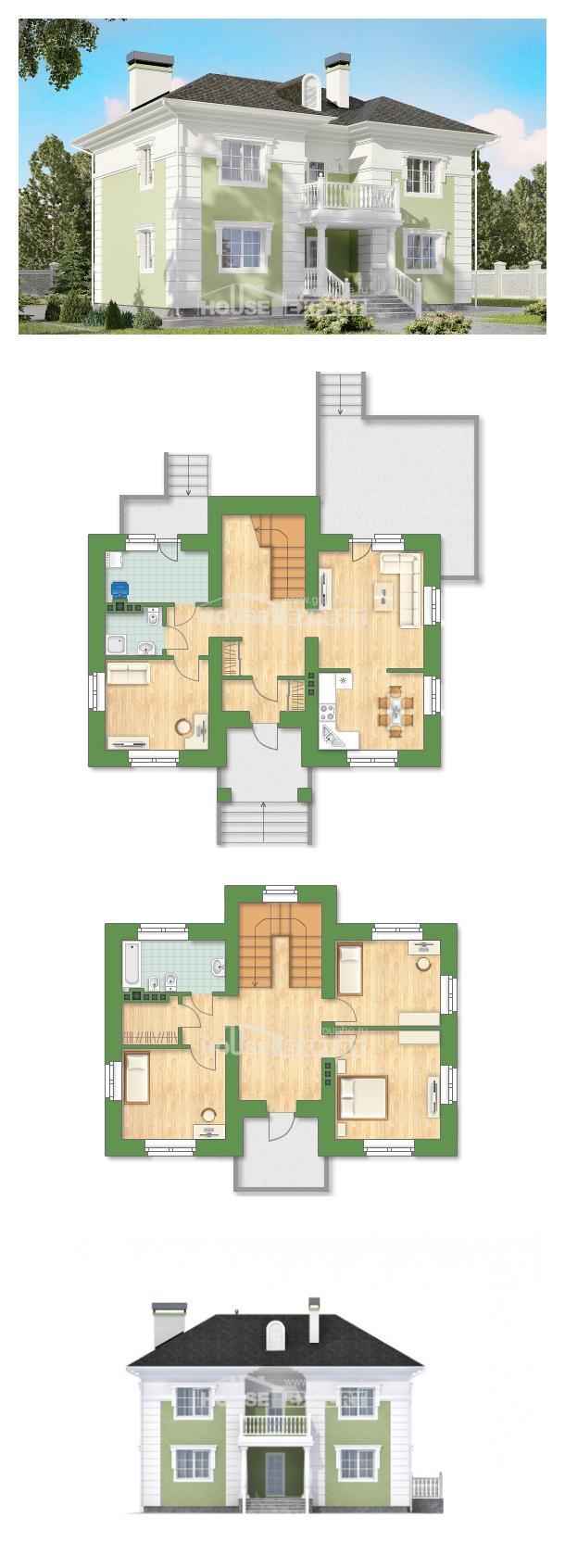 Проект дома 155-005-П | House Expert