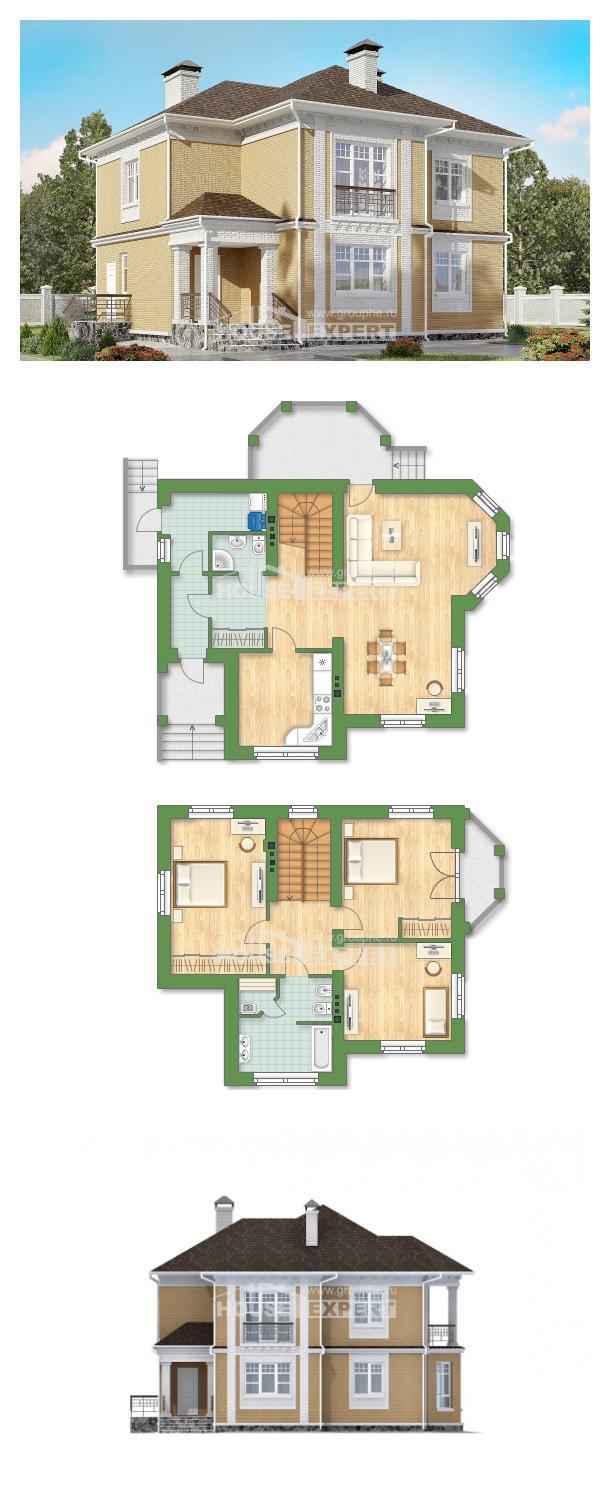Проект дома 160-001-Л   House Expert