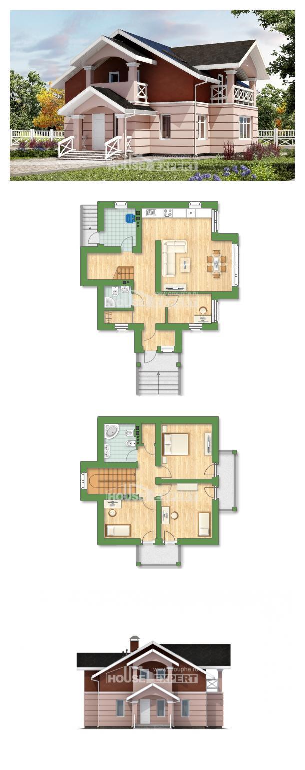 Проект дома 155-009-Л | House Expert