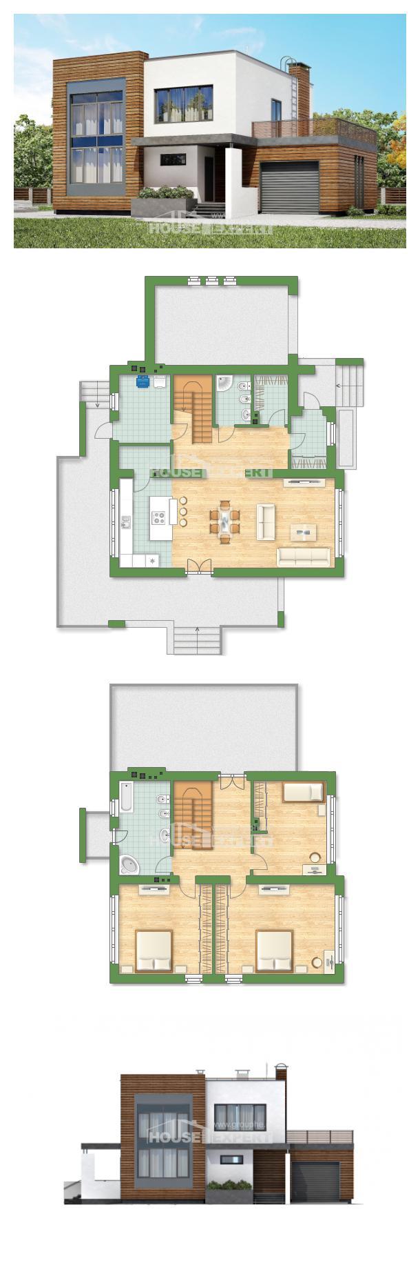 Проект дома 220-003-П | House Expert
