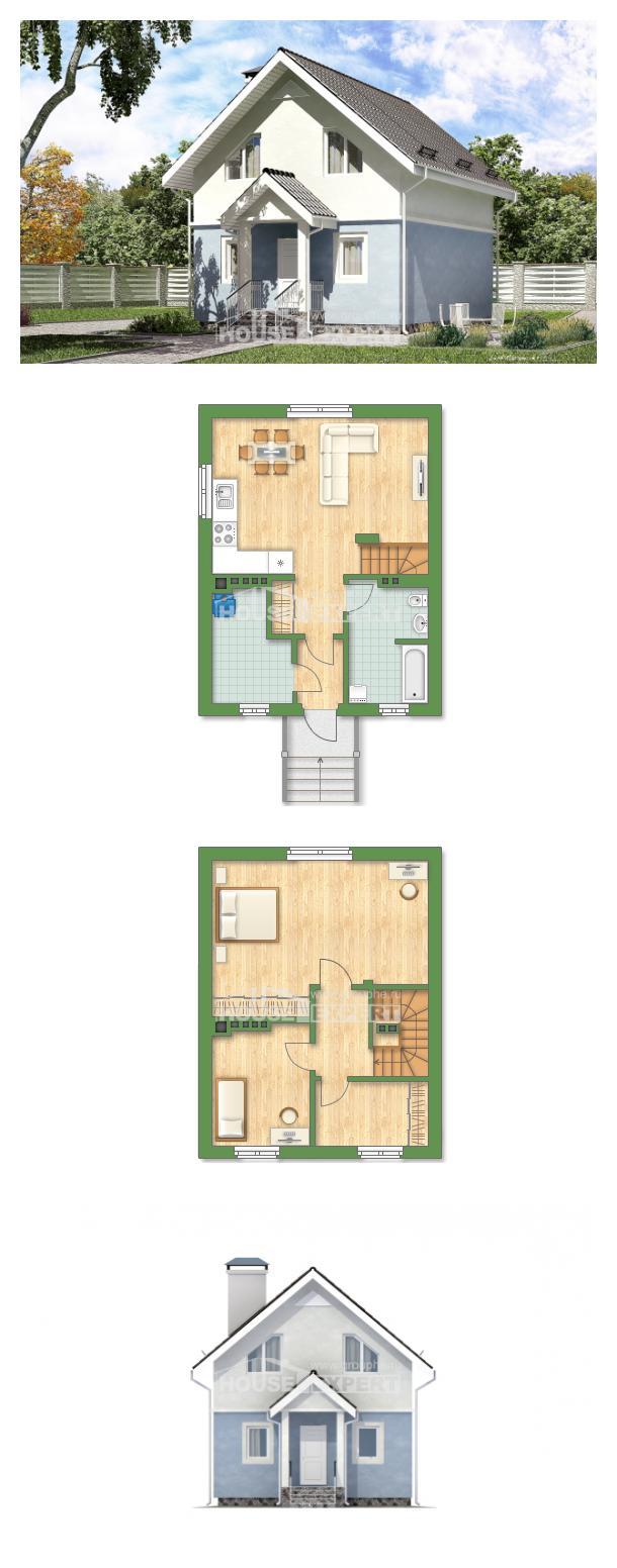 Проект дома 095-002-П | House Expert