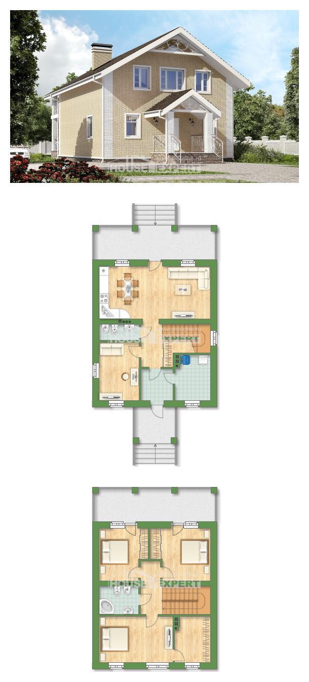 Проект дома 150-007-Л | House Expert
