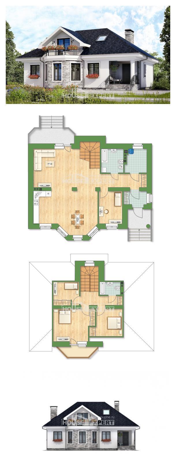 Проект дома 150-008-П   House Expert