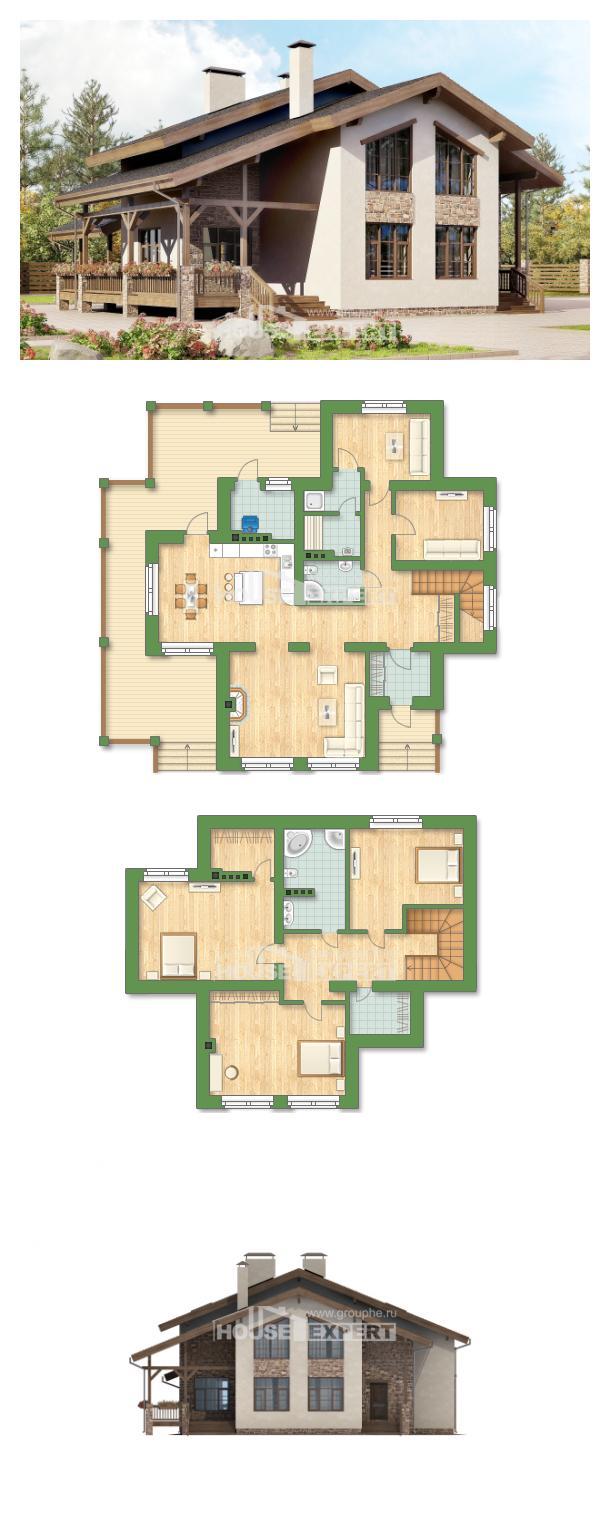 Проект дома 240-003-Л   House Expert