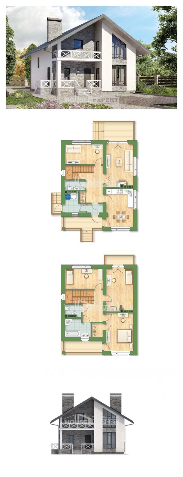 Проект дома 155-001-Л | House Expert