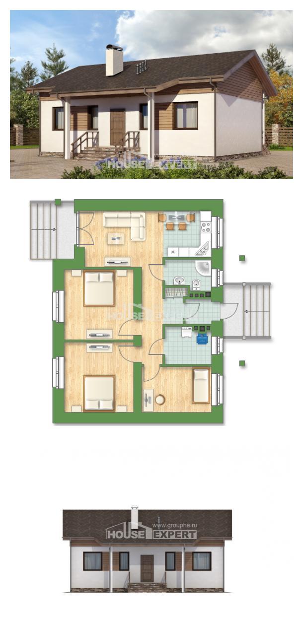 Проект дома 080-004-Л | House Expert